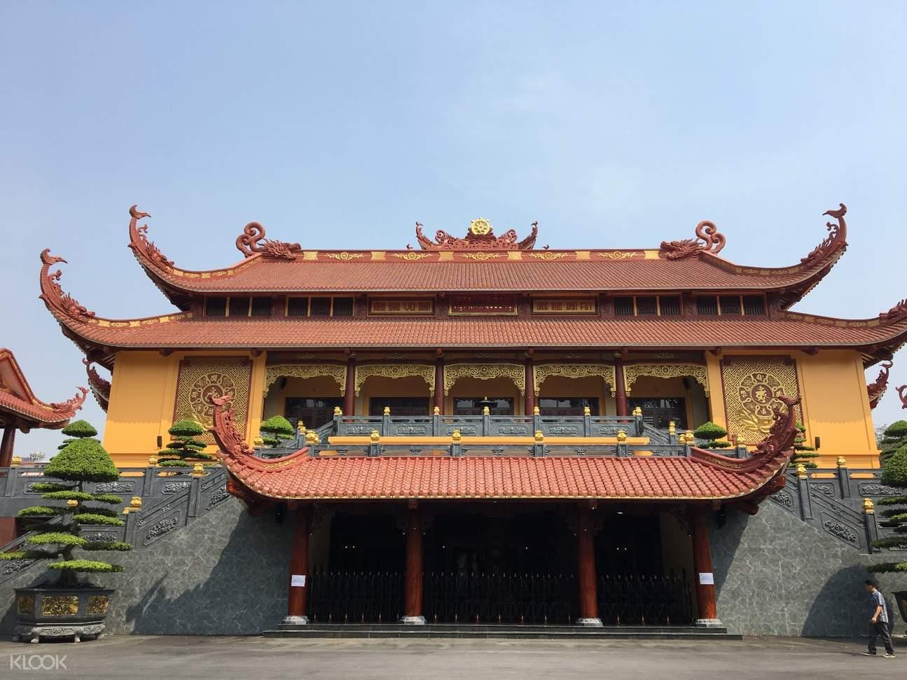 Viet Nam Quoc Tu pagoda