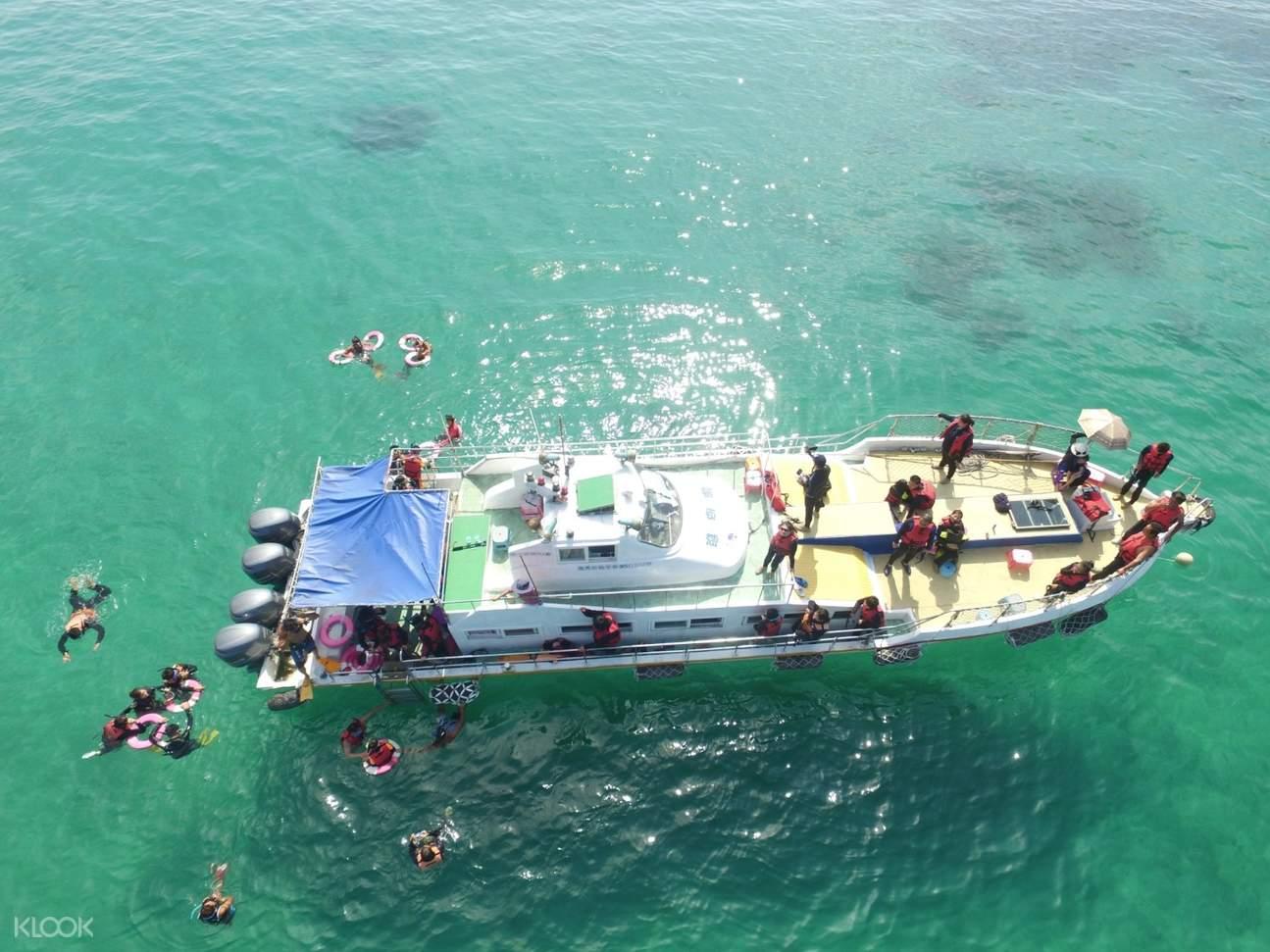 澎湖|珊瑚礁天堂|忘憂島浮潛・水上活動一日遊