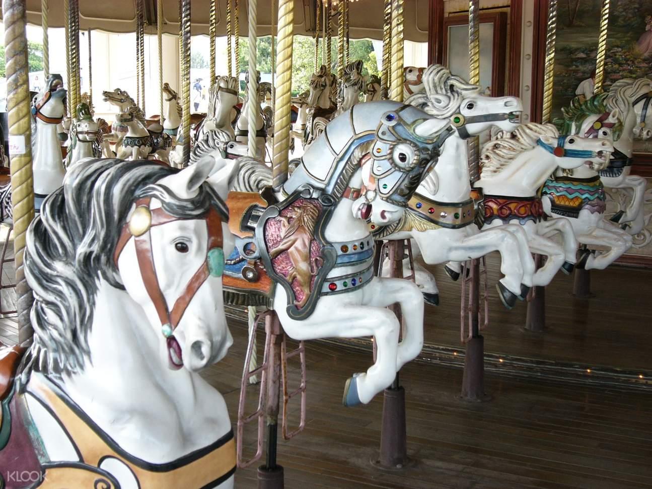 Yokohama Hakkeijima Sea Paradise merry go round