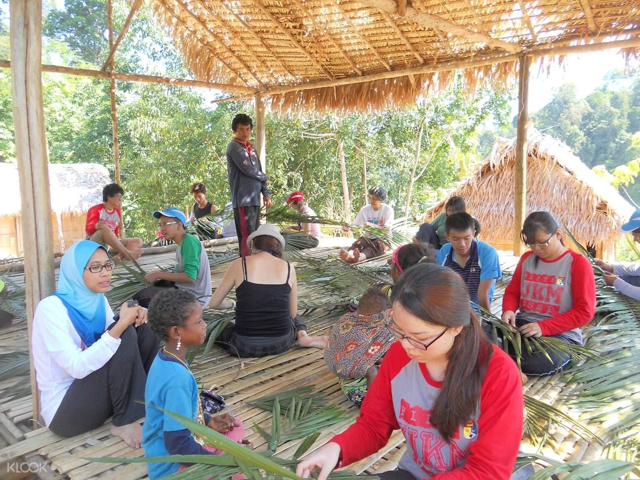 Orang Asli原住民村