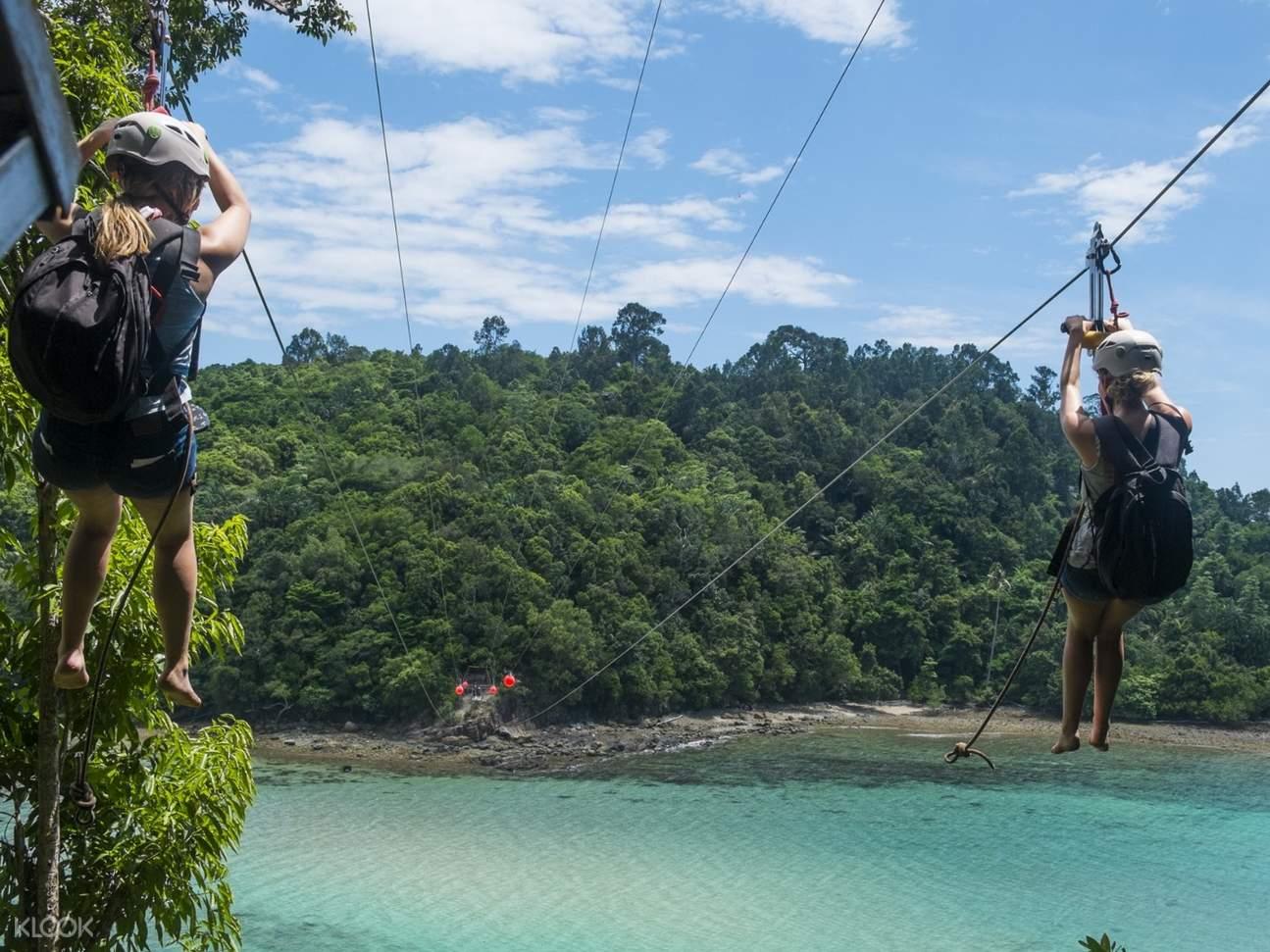 Coral Flyer Fun Adventure in Kota Kinabalu