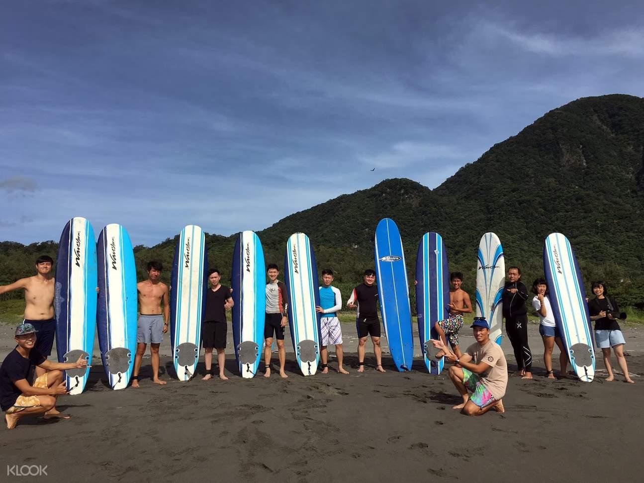 台東衝浪教學體驗課程
