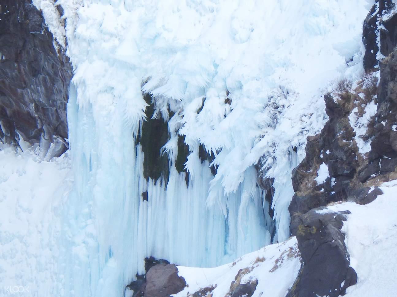 知床Furepe瀑布雪地鞋步行体验
