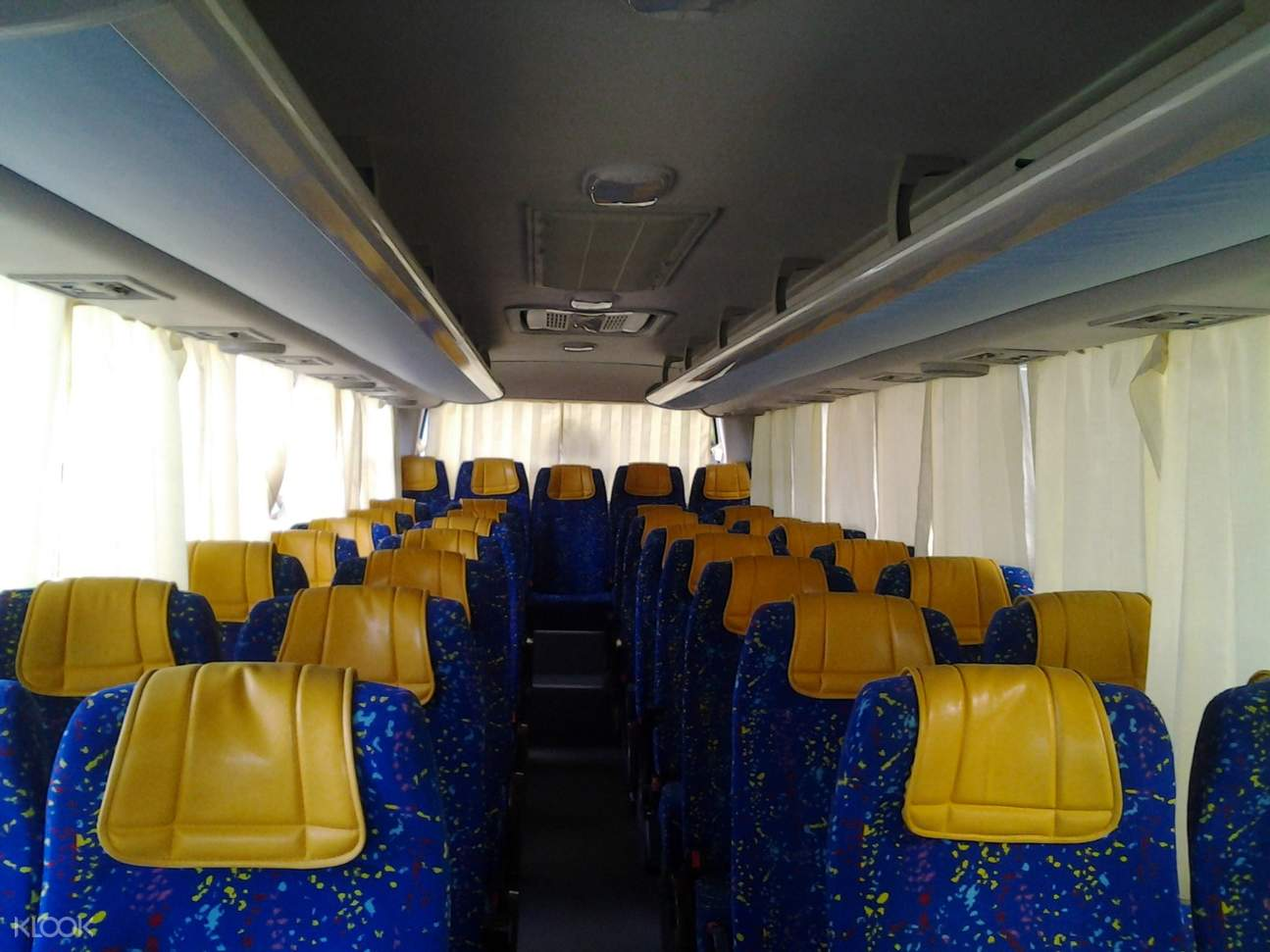 Jetty Bus interior