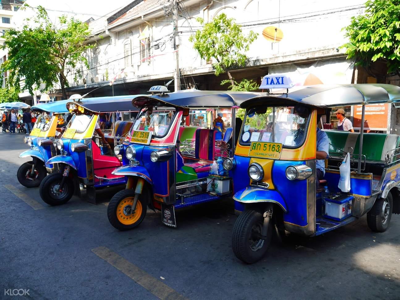 Wat Saket Private Tuk Tuk Tour by AK Travel, Thailand