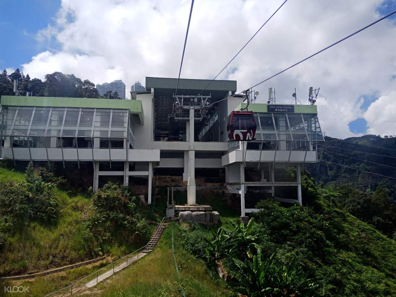 chinswee station at genting skyway