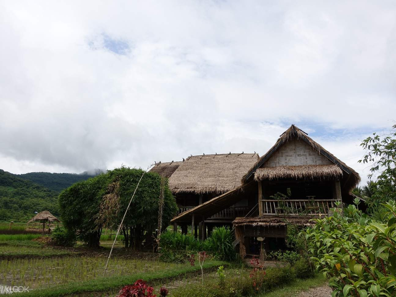 traditional Lao house Living Land Company