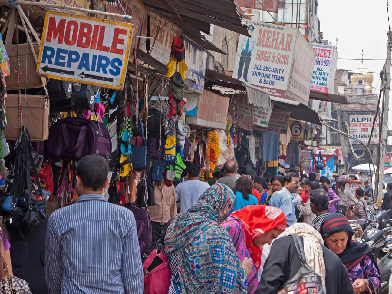 Delhi bazaar tour