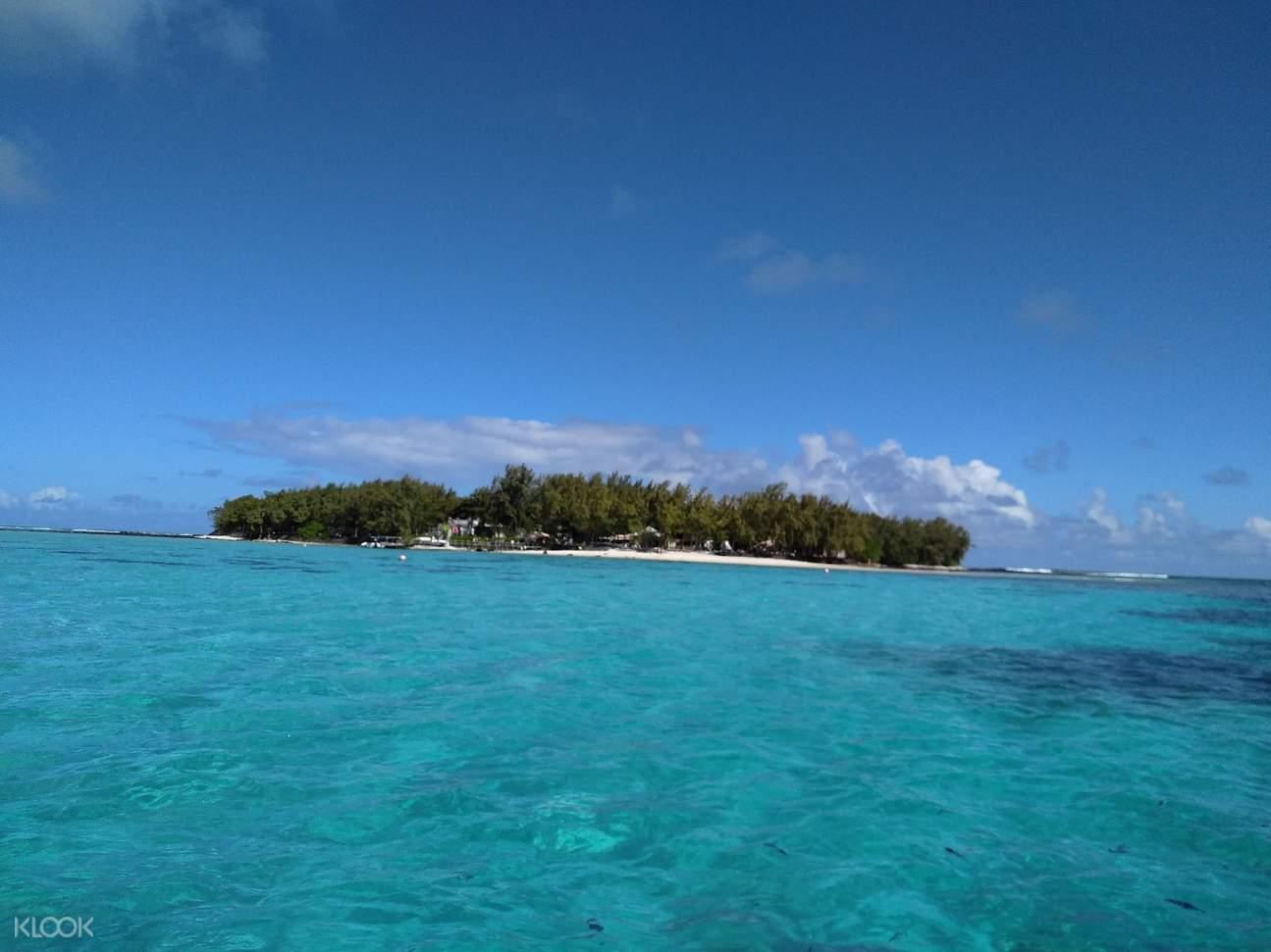 毛里求斯蓝湾,毛里求斯玻璃船,毛里求斯一日游,毛里求斯旅游,