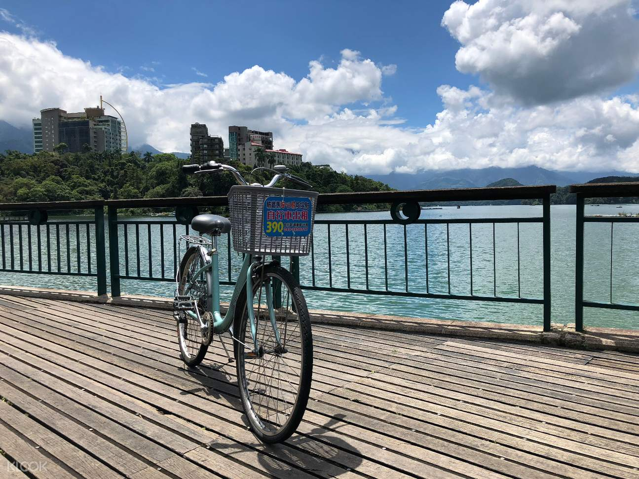 sun moon lake bike
