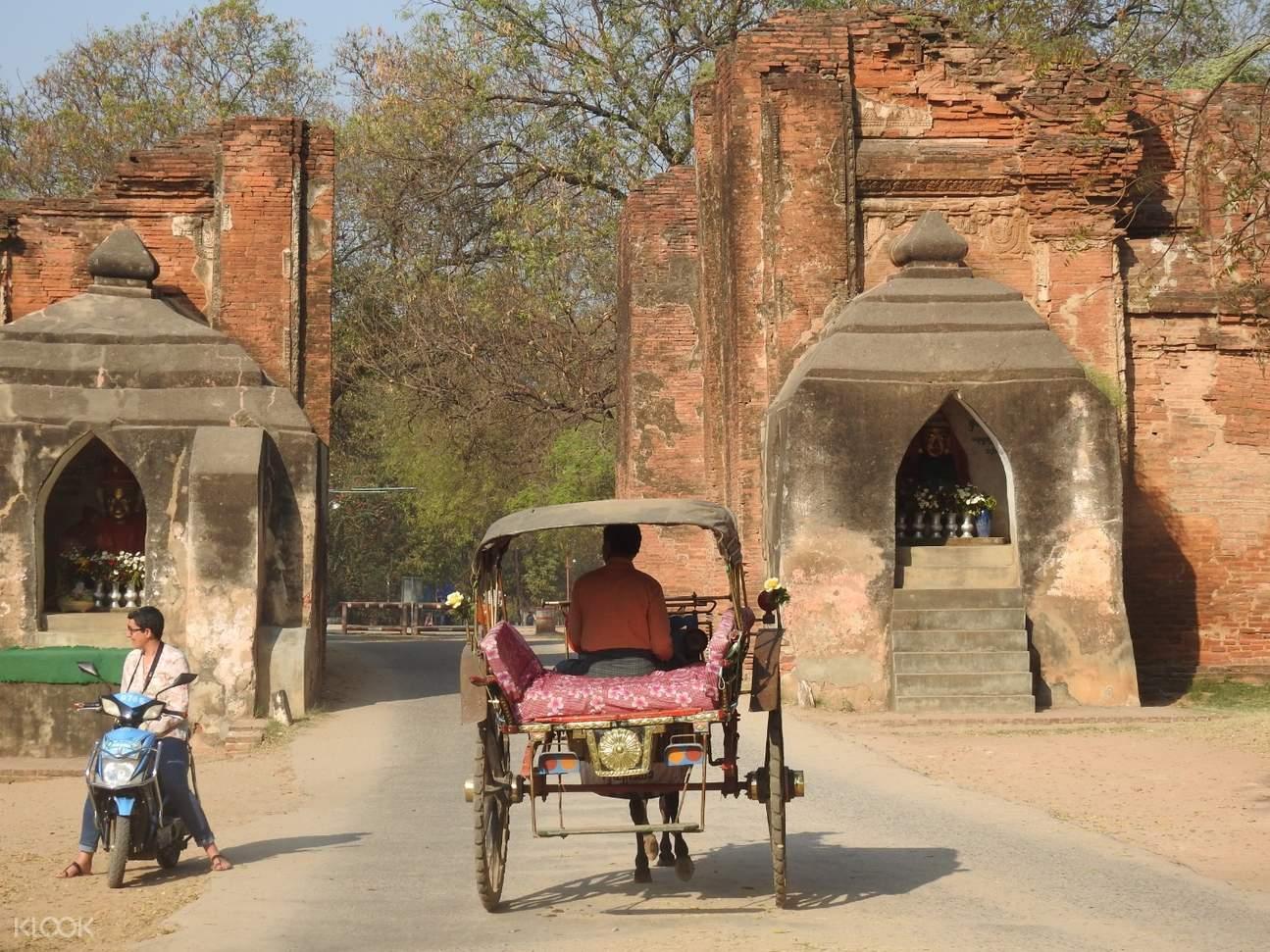 Bagan Horsecart