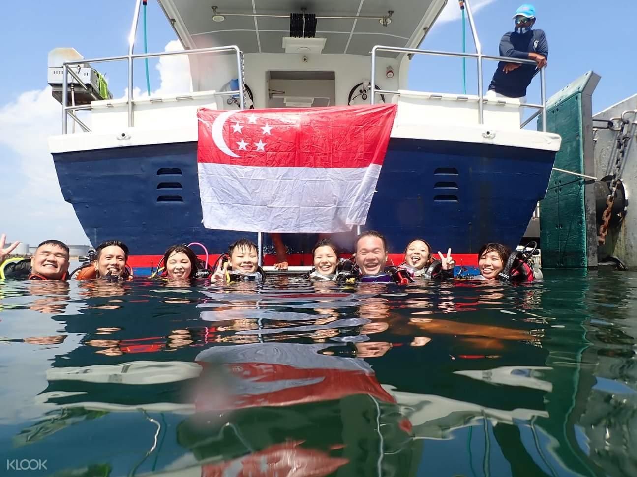 Scuba Diving At Pulau Hantu in Singapore