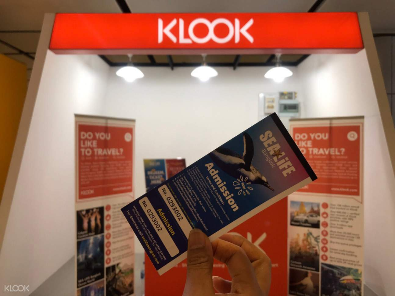 redeem ticket klook