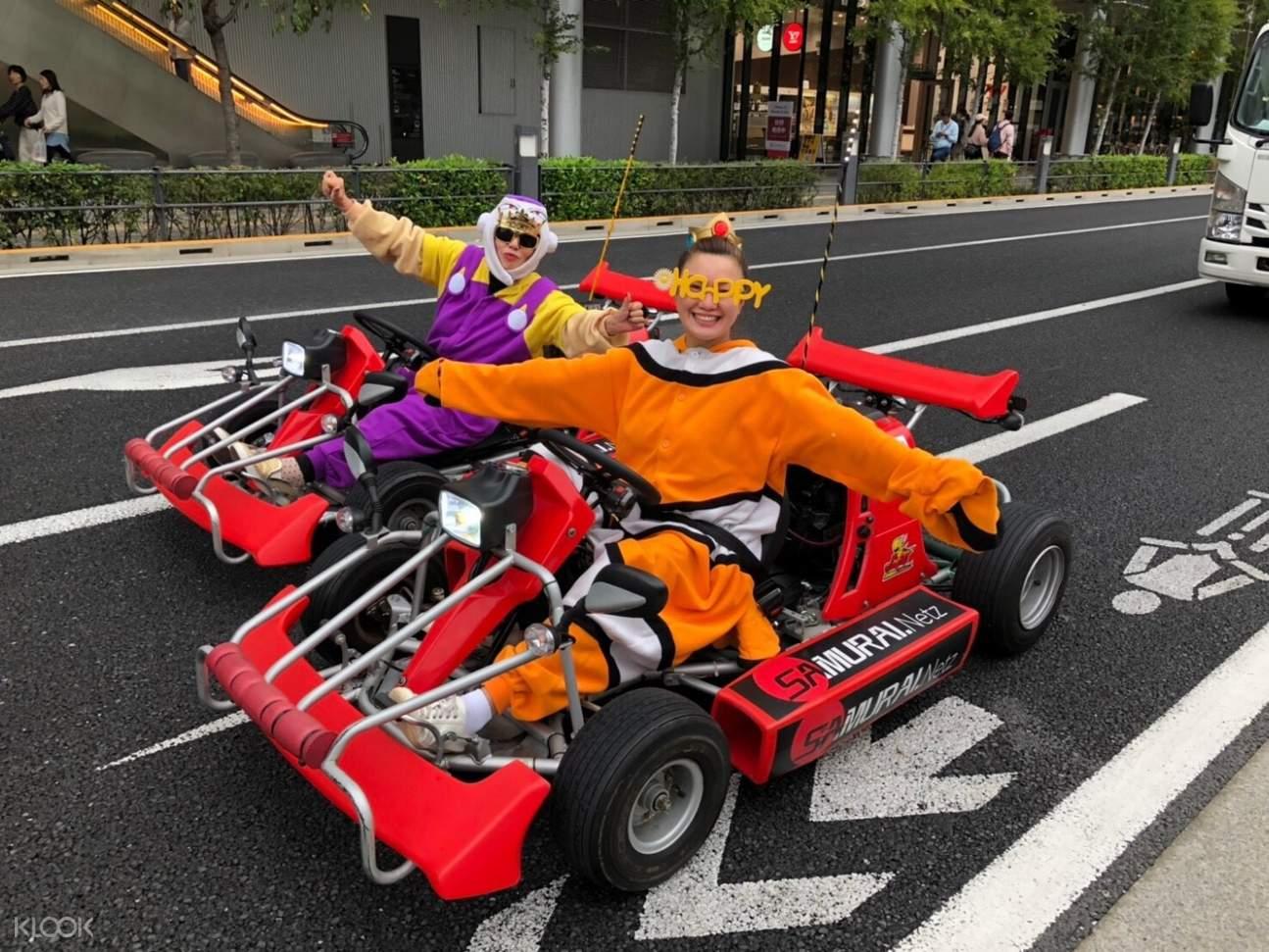 淺草卡丁車,跑跑卡丁車在東京,東京玩卡丁車