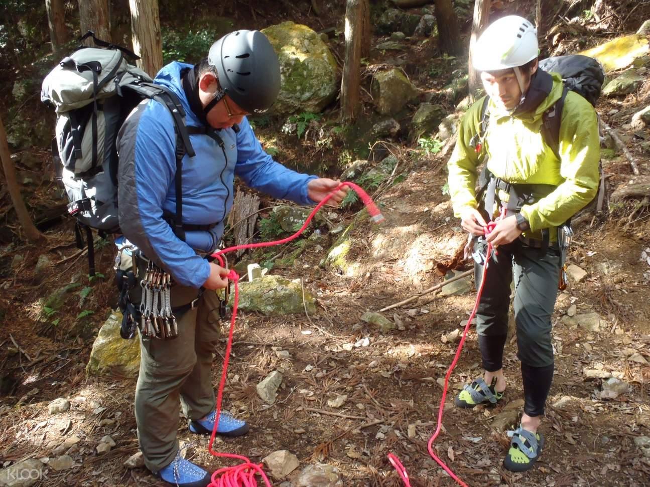 金毘罗山Konpirayama攀岩准备事项