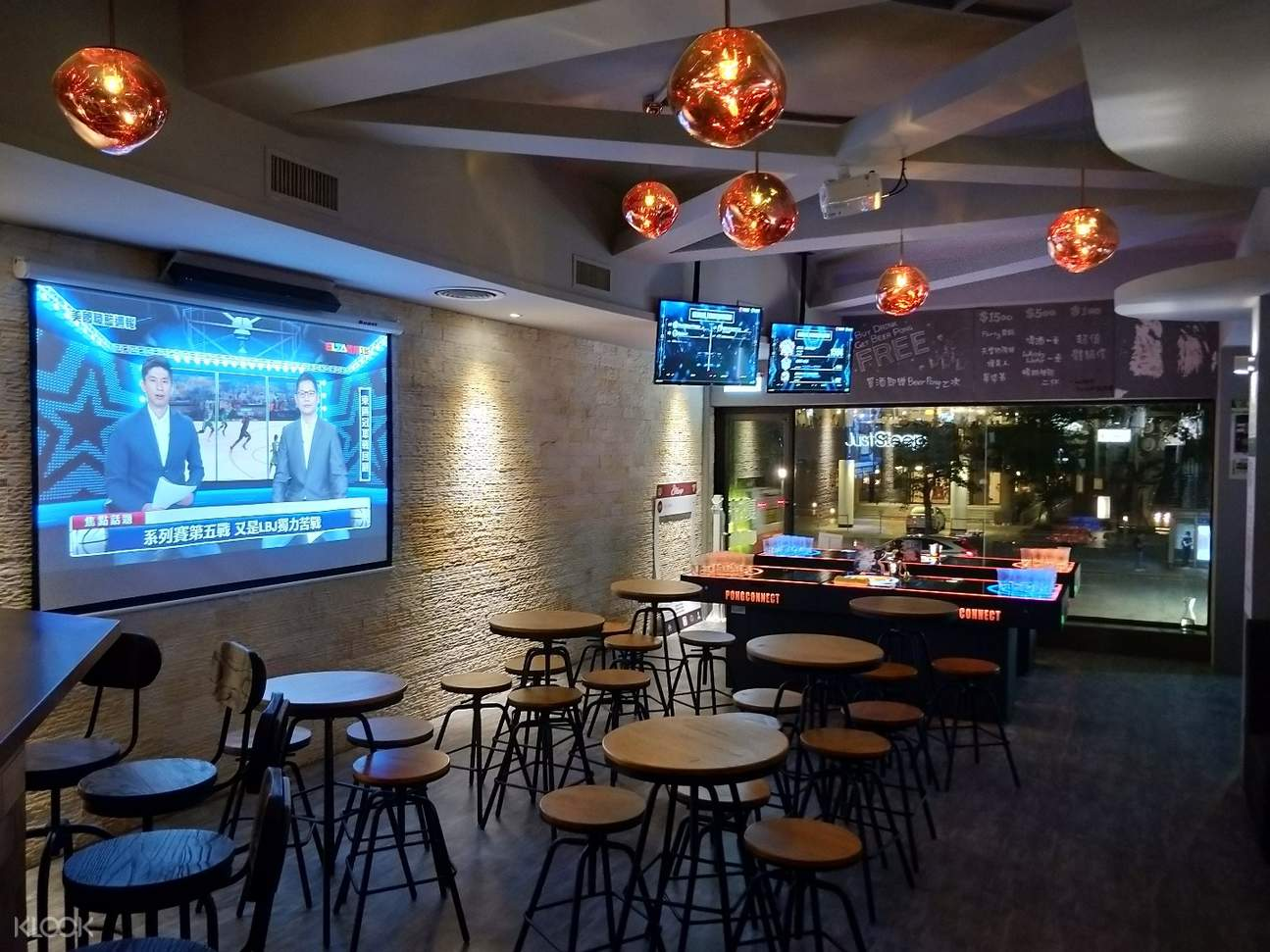台湾台北中正区89 LOOP Sports Bar