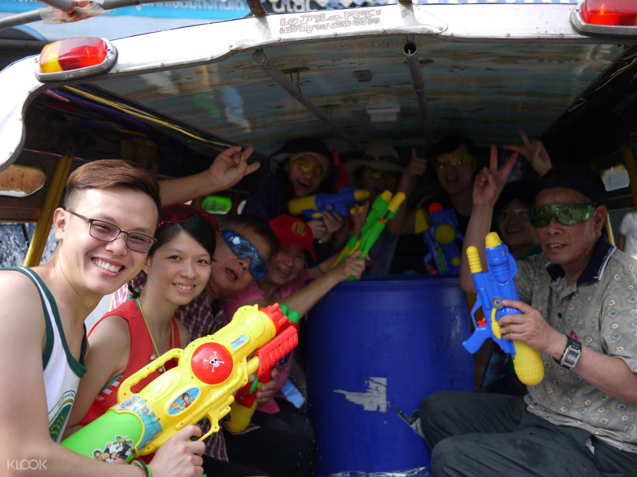 Songkran Festival Water Battle
