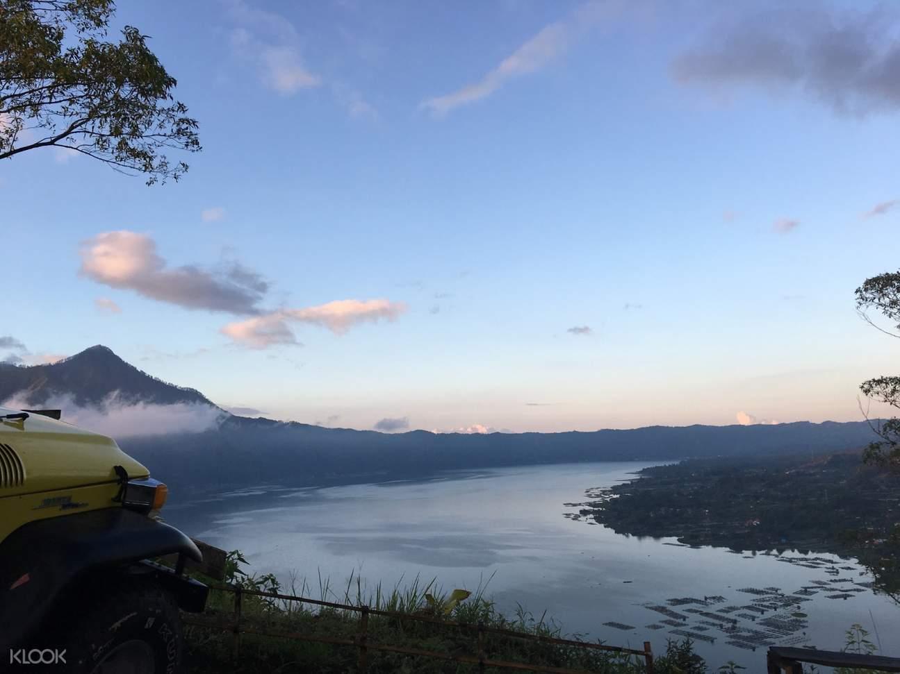 巴杜爾火山日出吉普車越野之旅