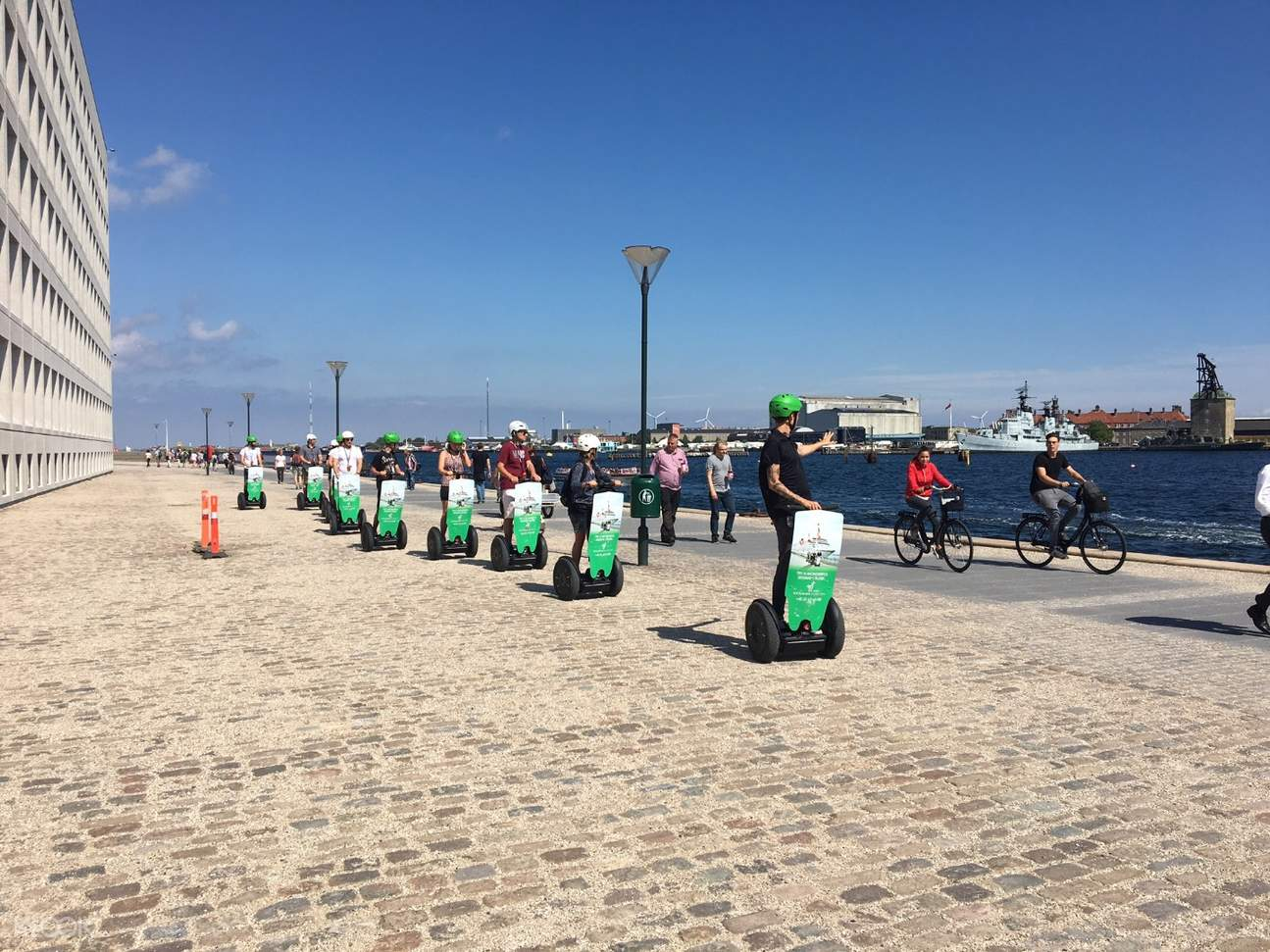 tour group of copenhagen segway tour