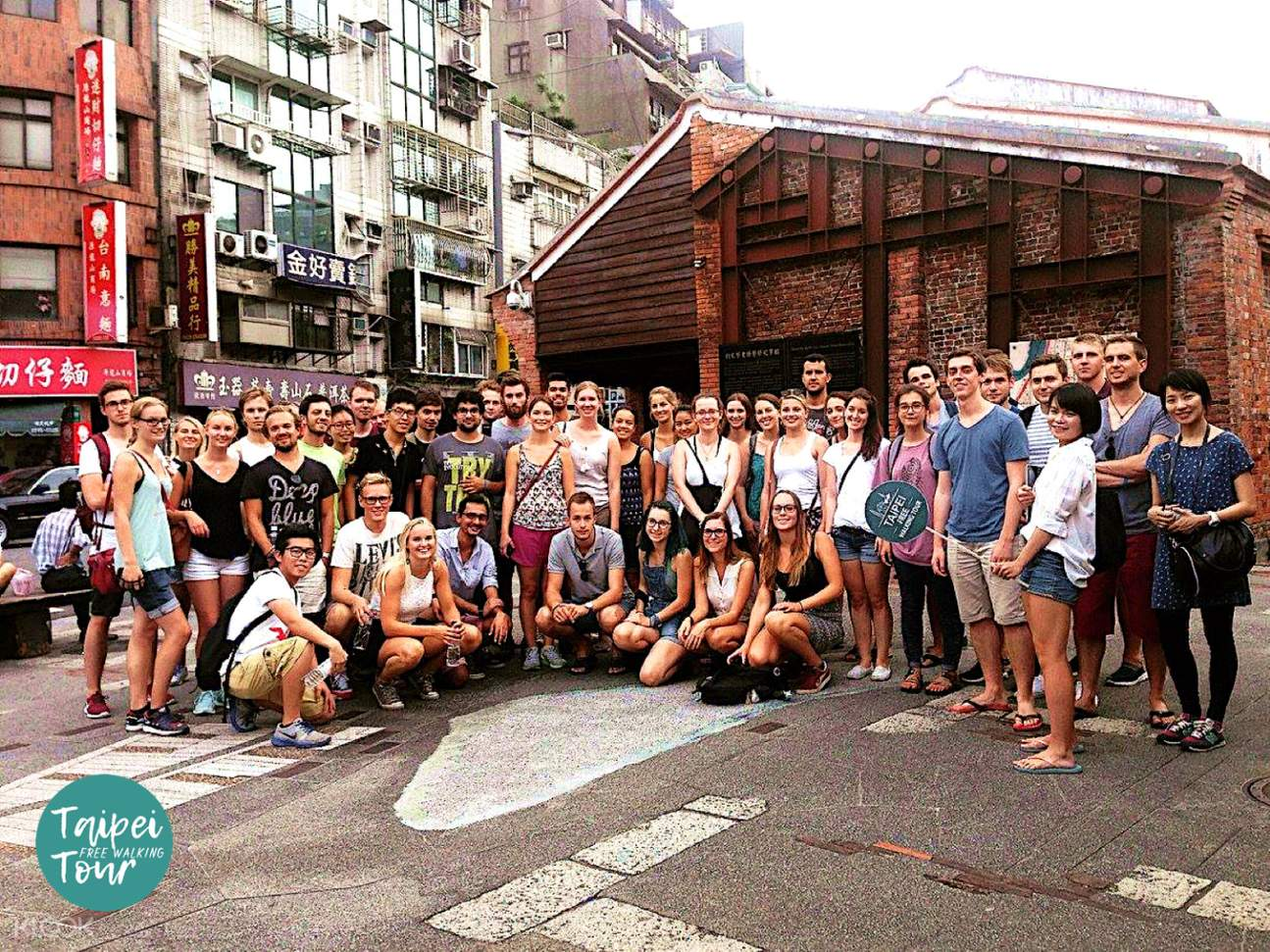 walking tour taipei