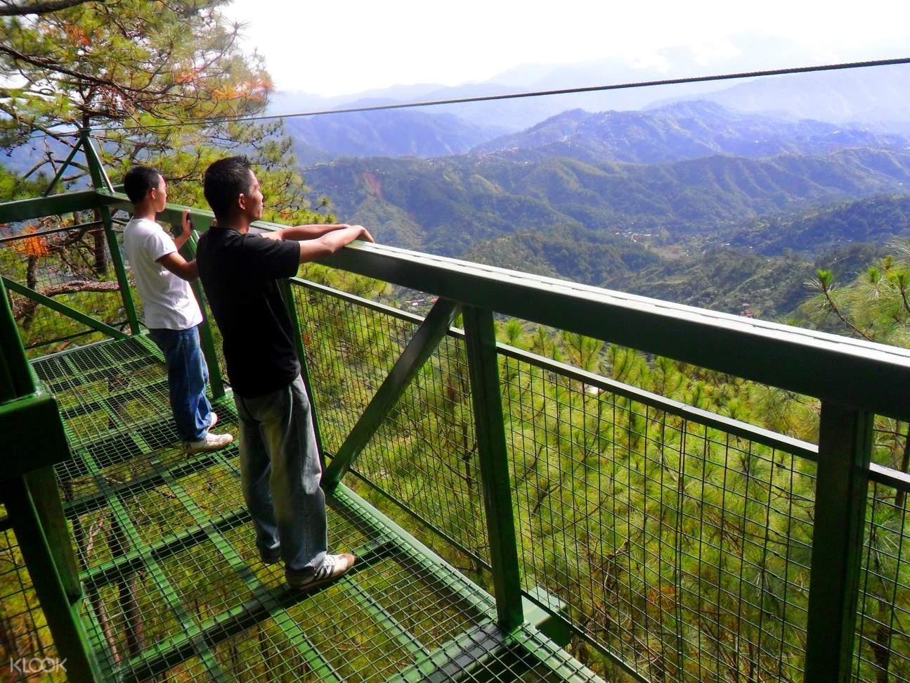 碧瑤樹頂冒險樂園 空中漫步