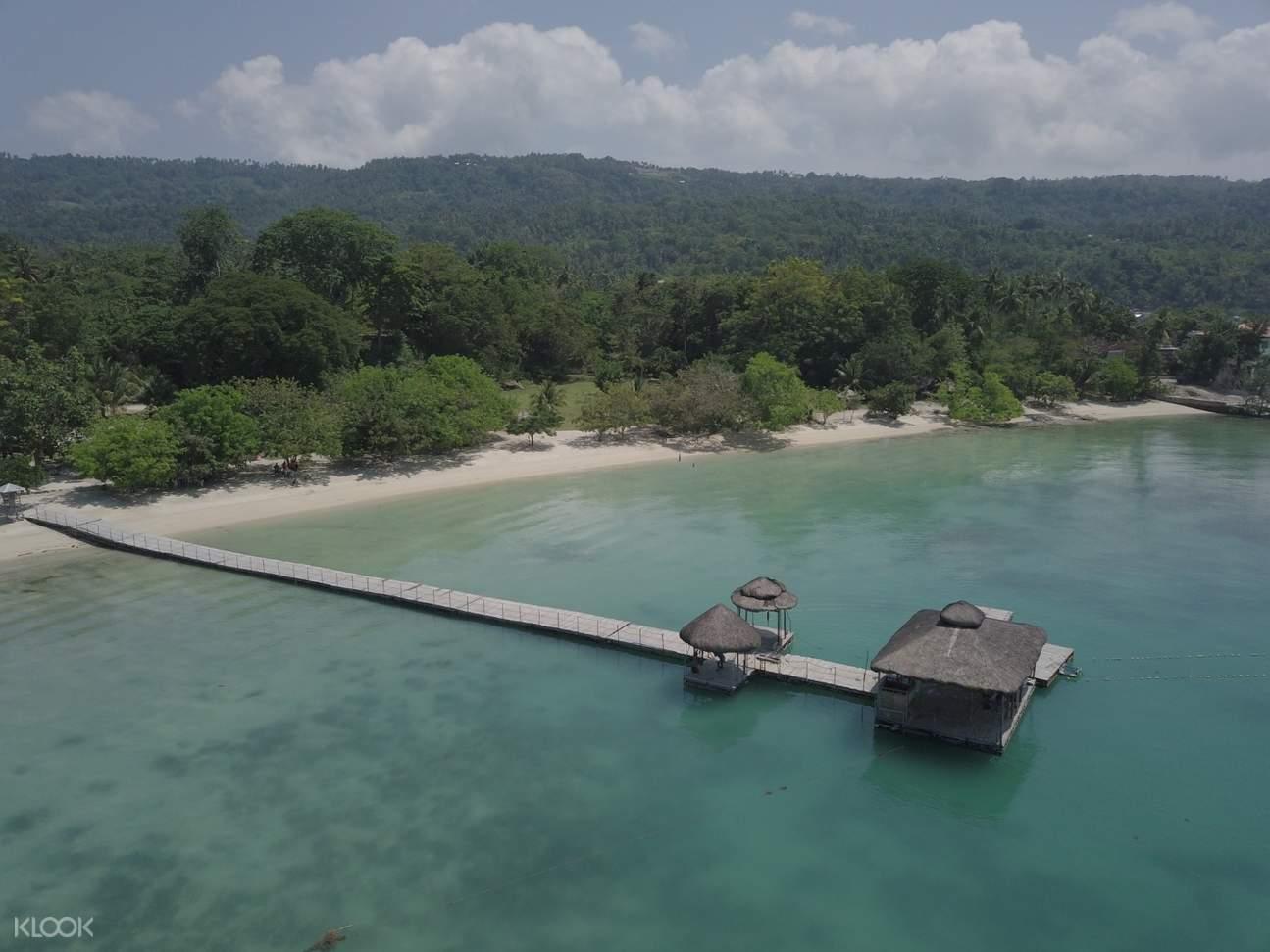 pier in samal island