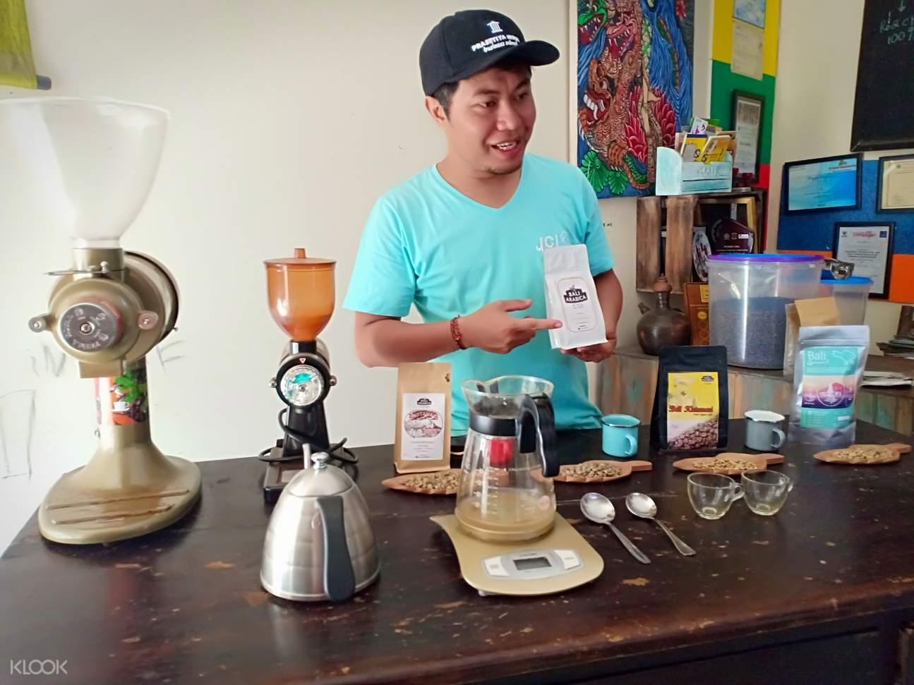 coffee instructor