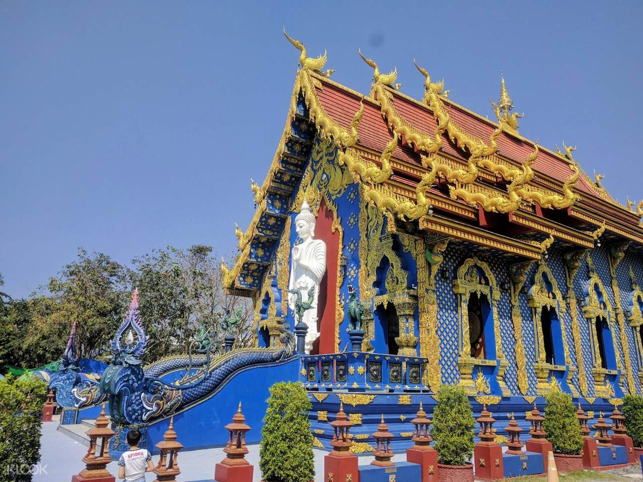 blue temple chiang rai half day private tour