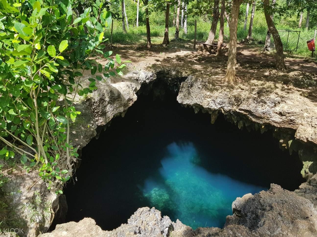 薄荷岛Anda海滩,薄荷岛Cabagnow洞穴,薄荷岛Candijay 一日游
