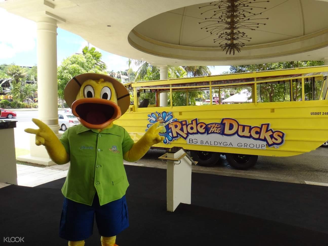 ride the ducks sightseeing tour guam