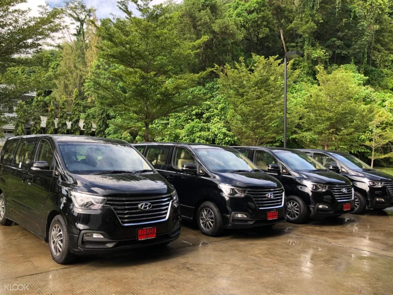 luxury car phuket tour