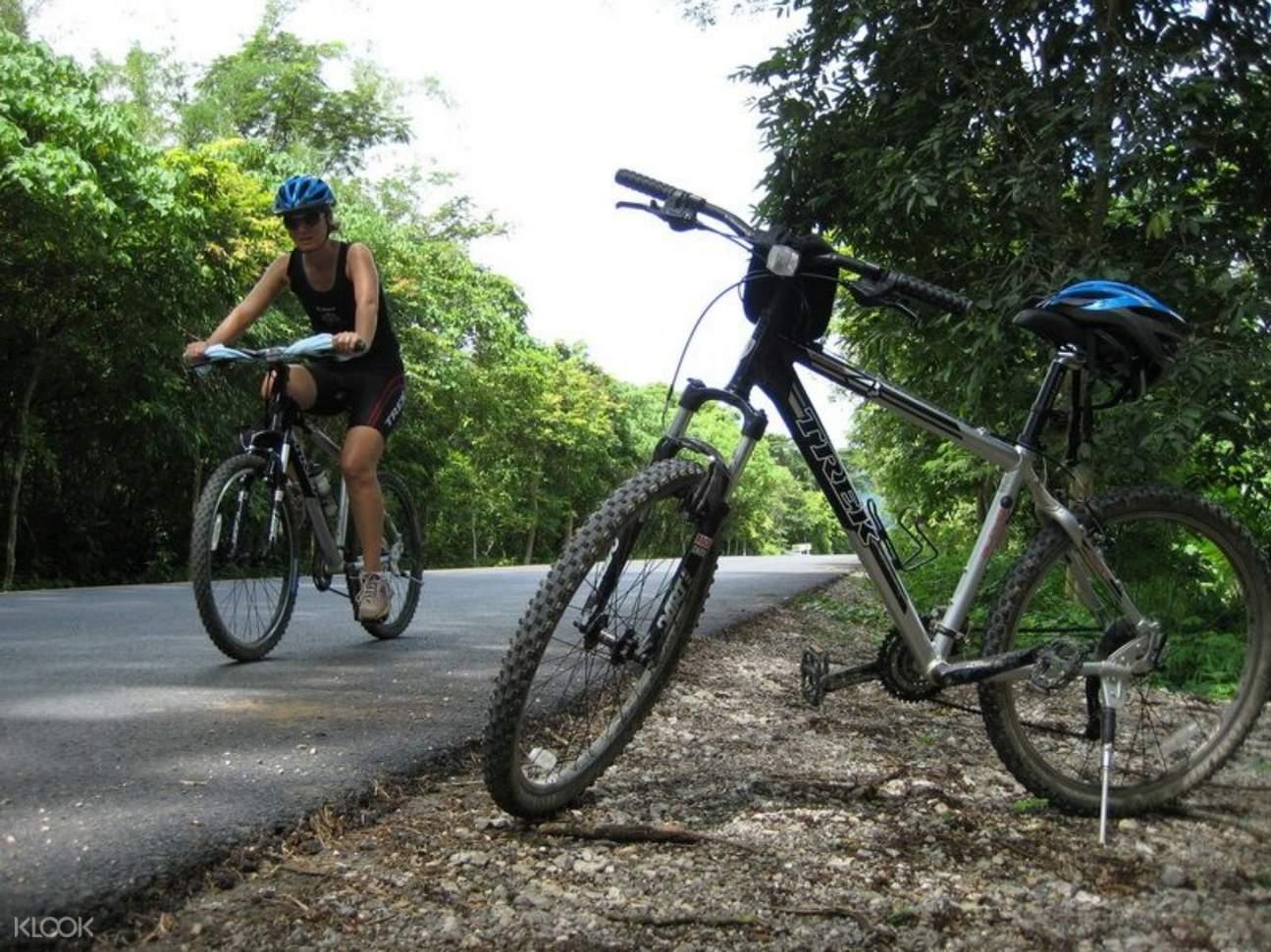 khao sok national park biking