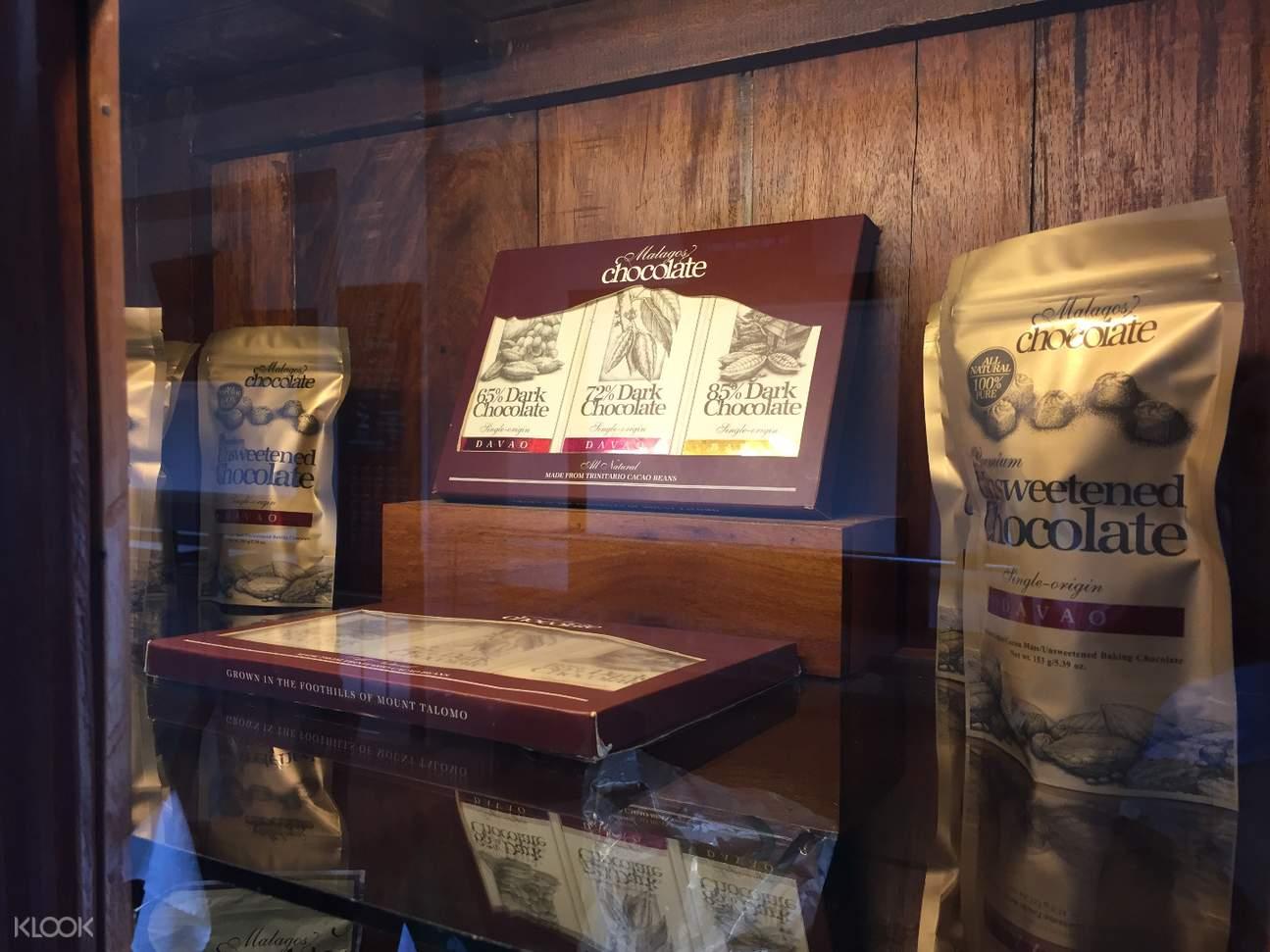 chocolate museum history display
