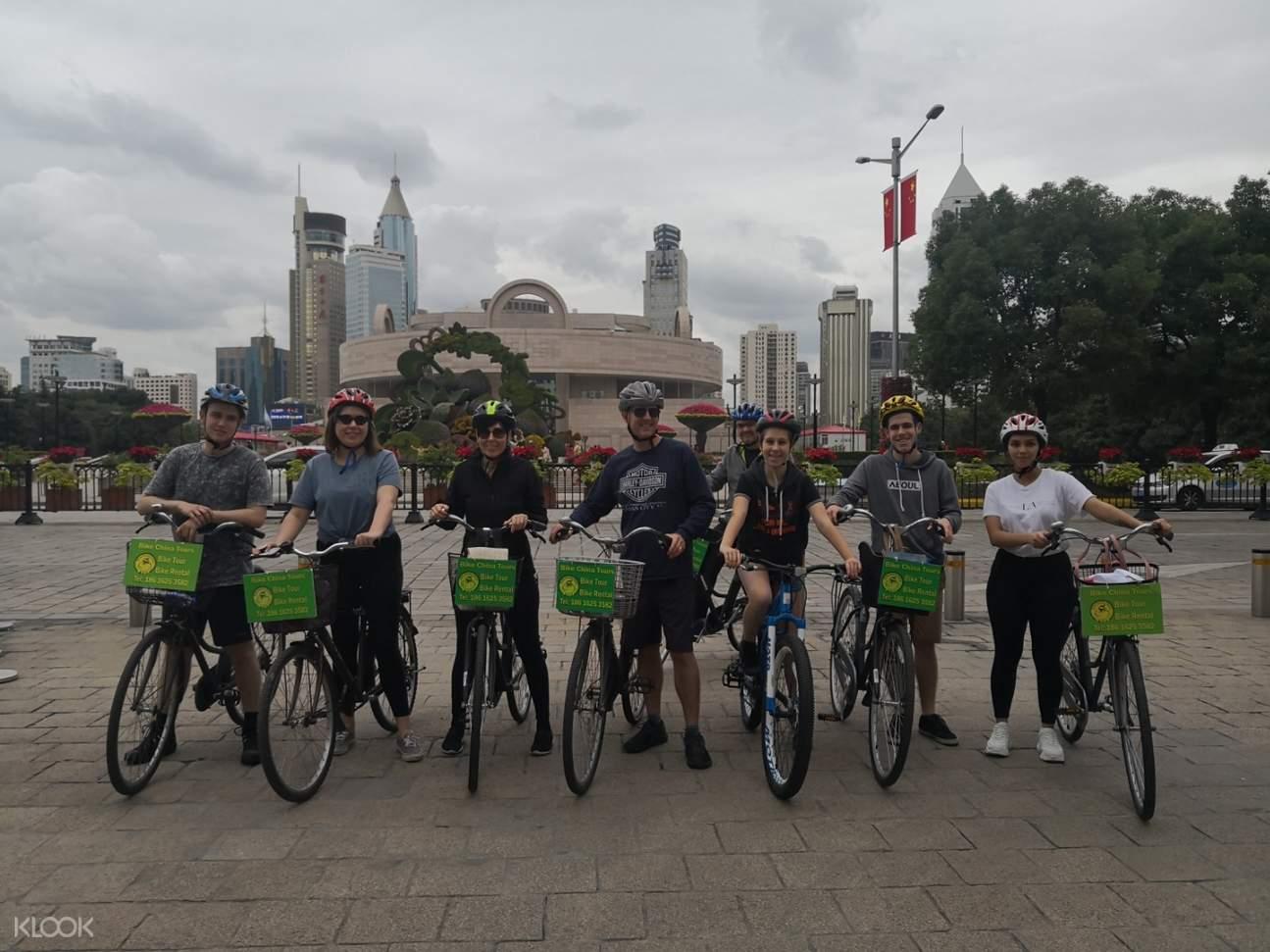 shanghai museum bike tour