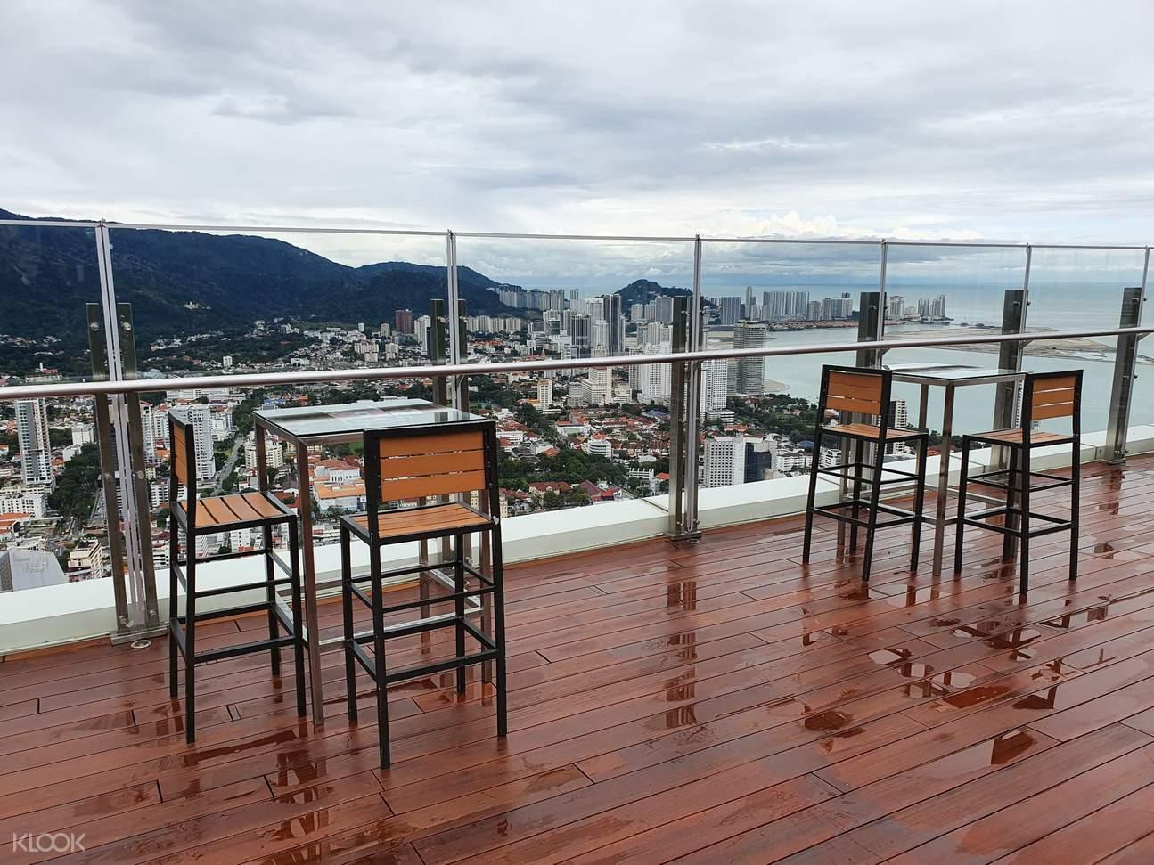 Topview restaurant outdoor