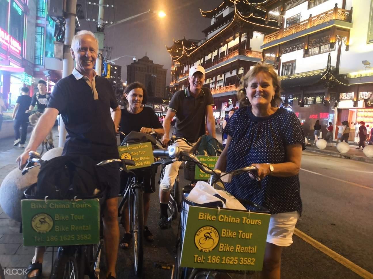 china bike tour in shanghai