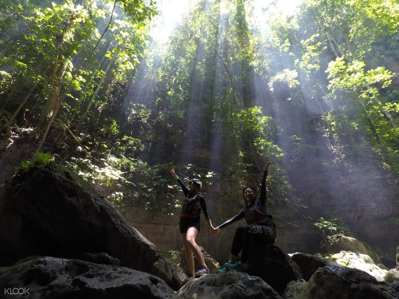 Badian Canyoneering Adventure trek