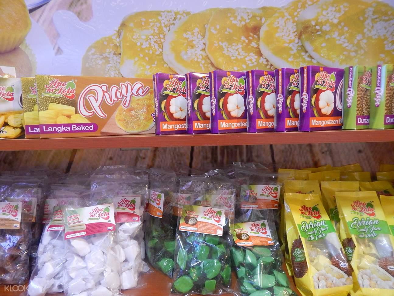 apo ni lola durian sweets