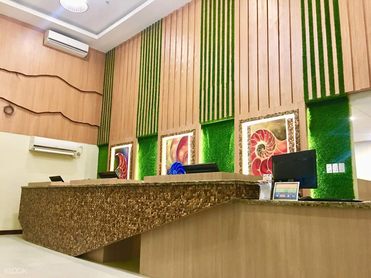 Altabriza Resort Front desk
