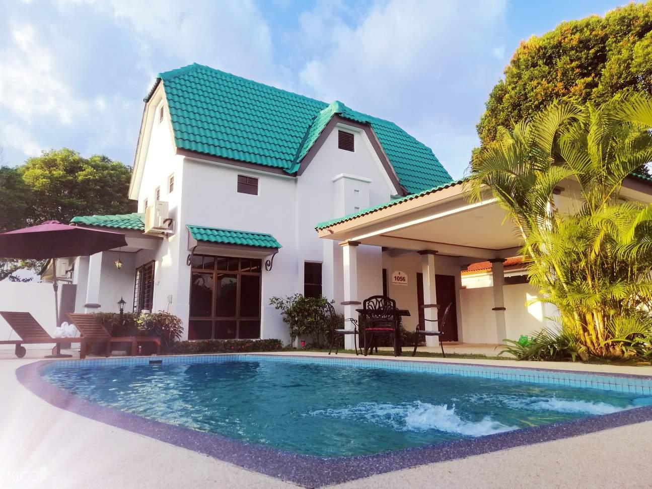 Enjoy your family vacation here at A'Famosa Resort Villa
