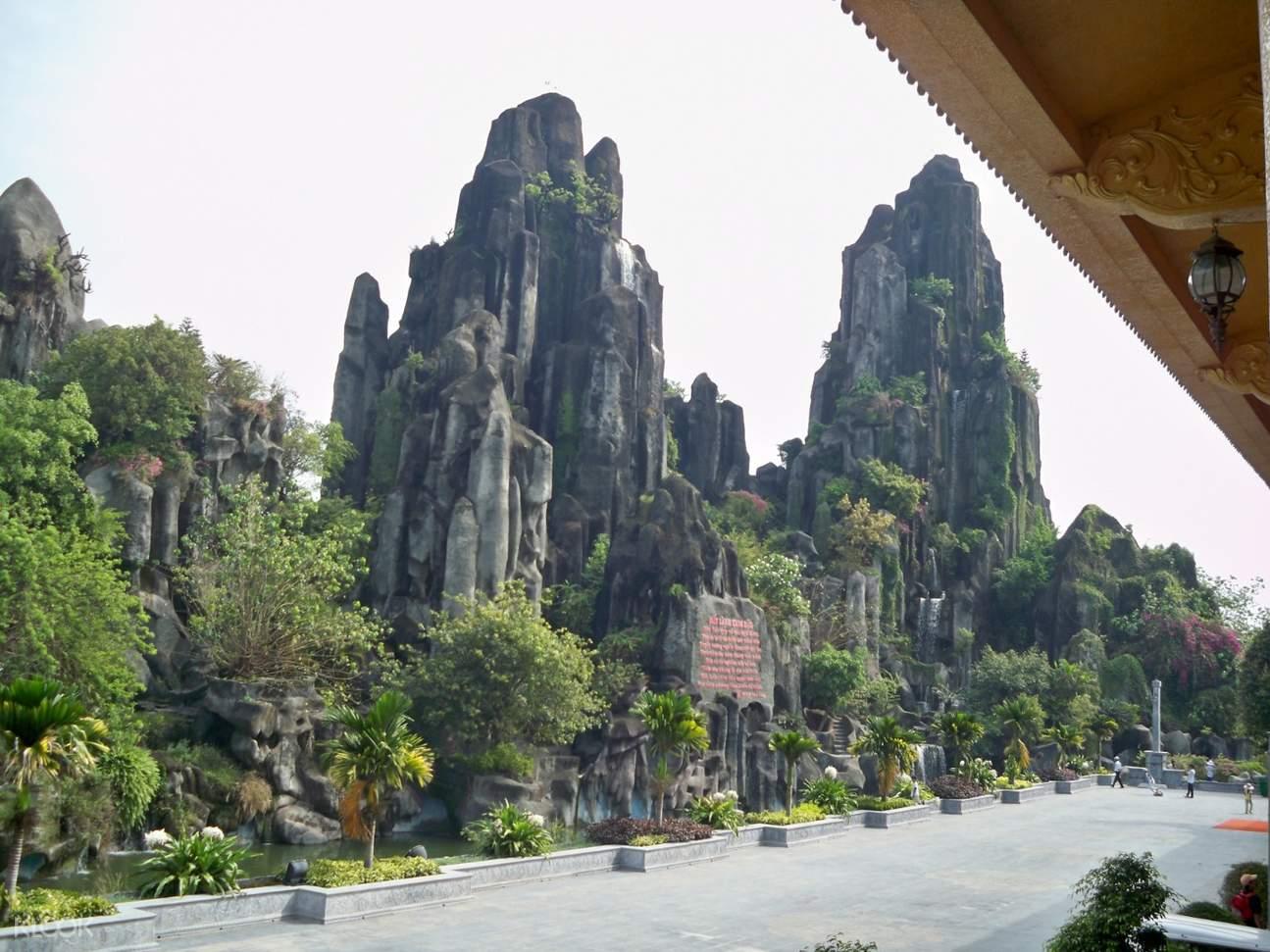 da nang marble mountain tour