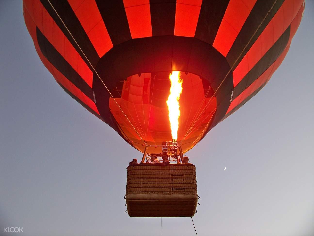 hot air balloon goa