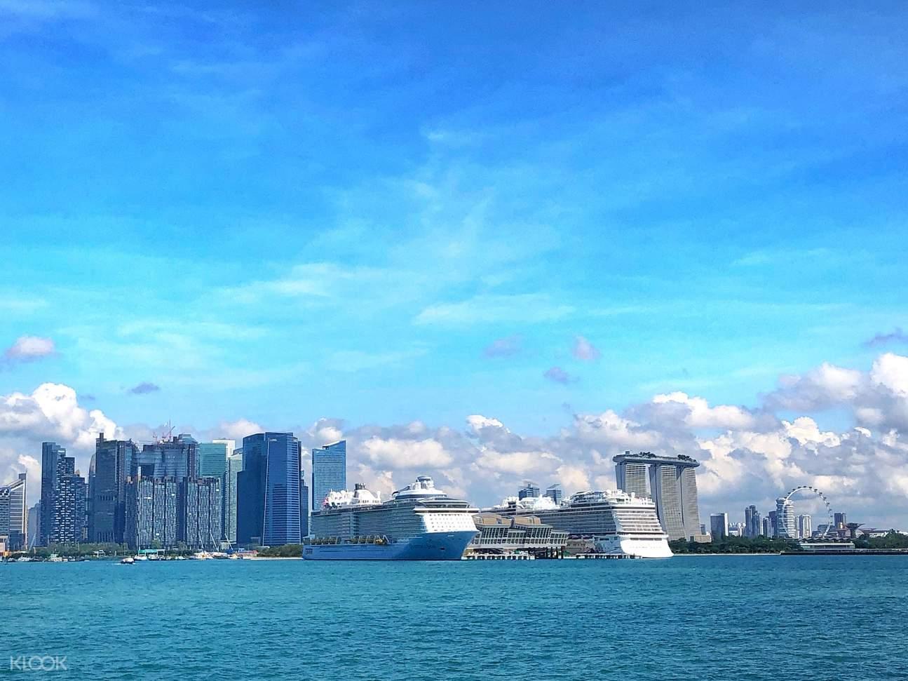 Grab your sense of adventure and cruise along Marina South Coast