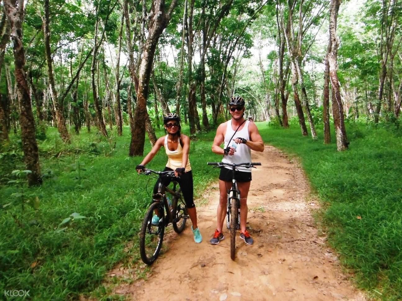 Phuket Countryside Half Day Biking Tour