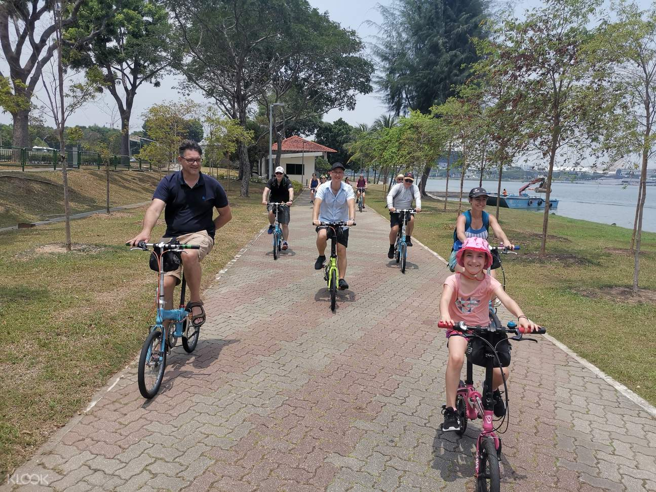 Your tour guide will give you great tips on what to do while cycling around town.