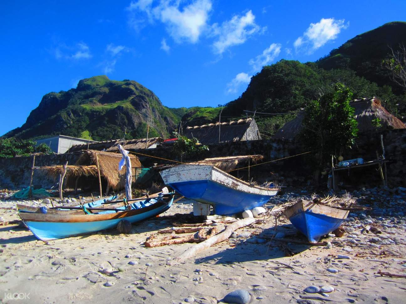 boats in the beachfront