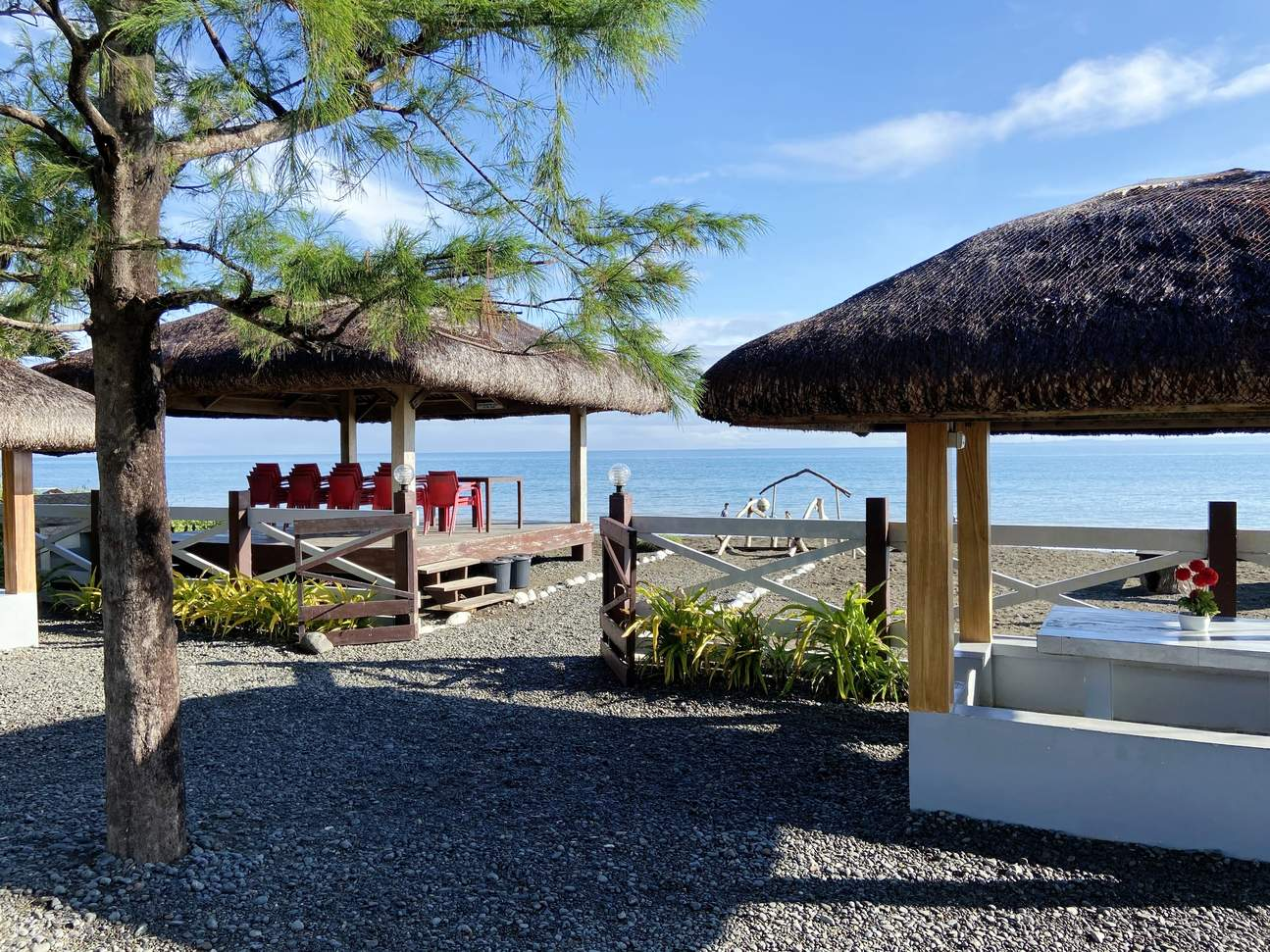 Tres Pinos Beach Resort beach front