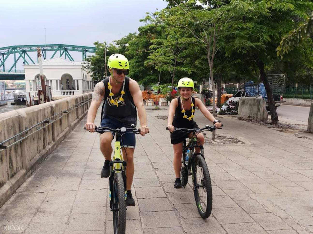 曼谷河畔騎行一日遊