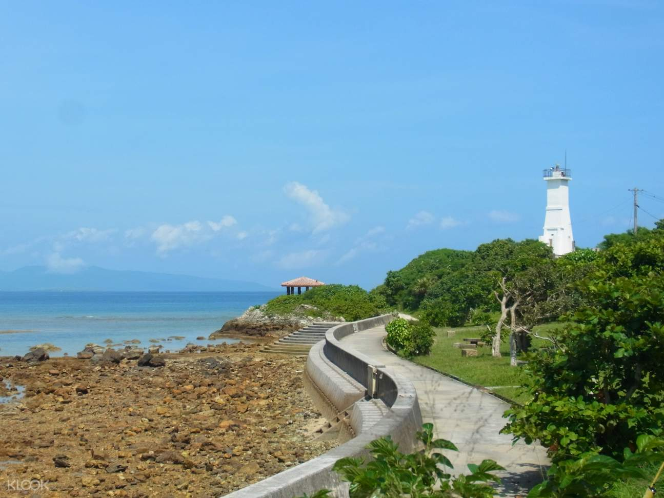 Kannonsaki lighthouse Ishigaki Island