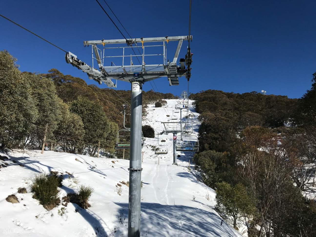mount buller north express chairlift
